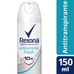 Desodorante Aerosol Rexona Antibacterial Fresh
