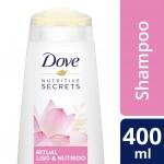 Shampoo Dove Ritual Liso e Nutrido