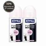 Kit Desodorante Roll On Nivea Invisible For Black & White