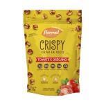 Crispy de Grão de Bico Tomate e Orégano