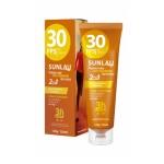 Protetor Solar com Repelente de Insetos Sunlau FPS 30