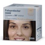 Fotoprotetor Facial Isdin Compact Cor Areia FPS50+
