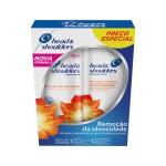 Kit Shampoo + Condicionador Head & Shoulders Remoção da Oleosidade