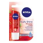 Protetor Labial Nivea Fruity Shine Morango