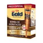 Kit Ampola de Tratamento Niely Gold Bomba de Chocolate