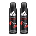 Kit Desodorante Aerosol Adidas Dry Power Masculino