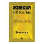 Máscara Facial Avenca Golden 24K