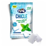 Chicletes Fini Natural Sweets Sem Açúcar