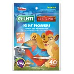 Fio Dental Infantil Gum Flosser Disney A Guarda do Leão