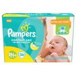 Fralda Pampers Confor Sec Recém-nascido