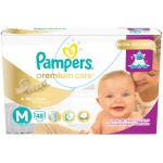 Fralda Pampers Premium Care Tamanho M