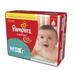 Fralda Pampers SuperSec tamanho M