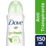Desodorante Aerosol Dove Go Fresh Pepino & Chá Verde