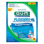 Fio Dental Flossers Gum Multiple Action