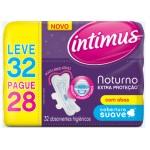 Absorvente Intimus Noturno Extra Proteção Suave com Abas