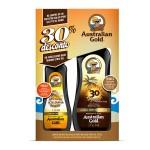 Kit Protetor Solar Instant Bronze FPS30+  Acelerador de Bronzeado Clear Dark Tanning