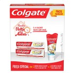 Kit Creme Dental Colgate Total 12 + Gel Dental Minions