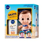 Kit Protetor Solar Sensitive Nivea Sun Kids FPS60 + Boneca