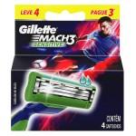 Lâminas para Aparelho de Barbear Mach3 Sensitive