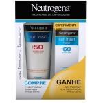 Kit Protetor Solar Neutrogena Sun Fresh PFS50 + Protetor Facial FPS60