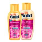 Kit Shampoo + Condicionador Niely Gold Mega Brilho