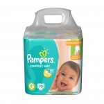 Fralda Pampers Confort Sec Giga Tamanho G