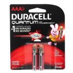 Pilhas Alcalina Quantum Powercheck AAA2