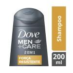 Shampoo 2 em 1 Dove Men Care Força Resistente