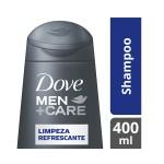 Shampoo Dove Men Care Limpeza Refrescante