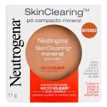 Pó Compacto Mineral Neutrogena Skin Clearing Mini Powder Intenso