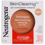 Pó Compacto Mineral Neutrogena Skin Clearing Mini Powder Médio