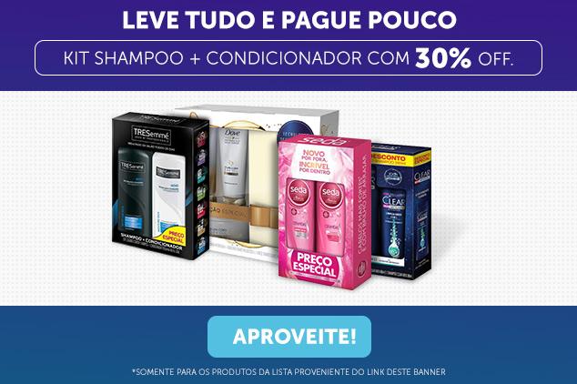 Kit Shampoo e Condicionador