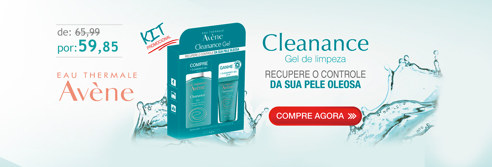 kit gel cleanance