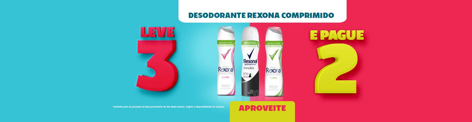 desodorante rexona