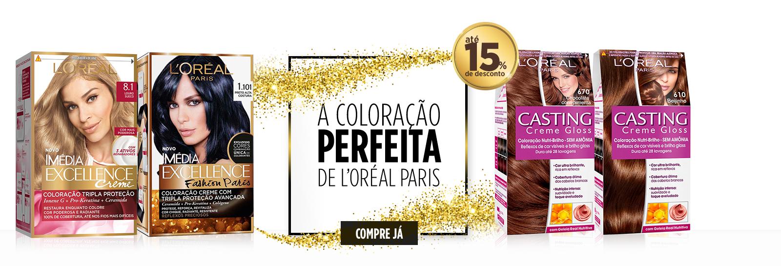 coloracao loreal paris