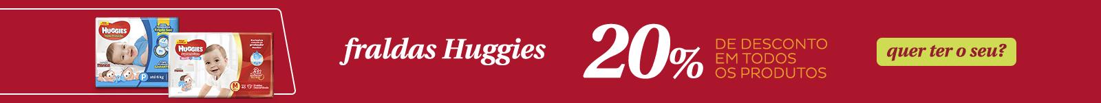Fralda Huggies 20desc