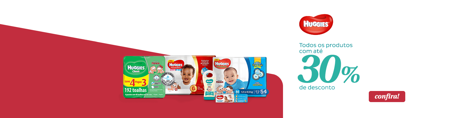 Huggies 30off